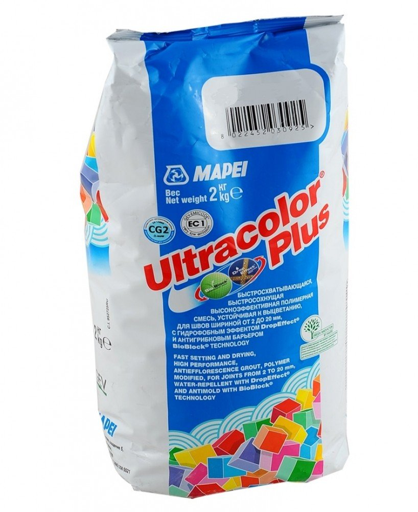 Затирка Mapei Ultracolor Plus  61 гранатовый (2 кг)